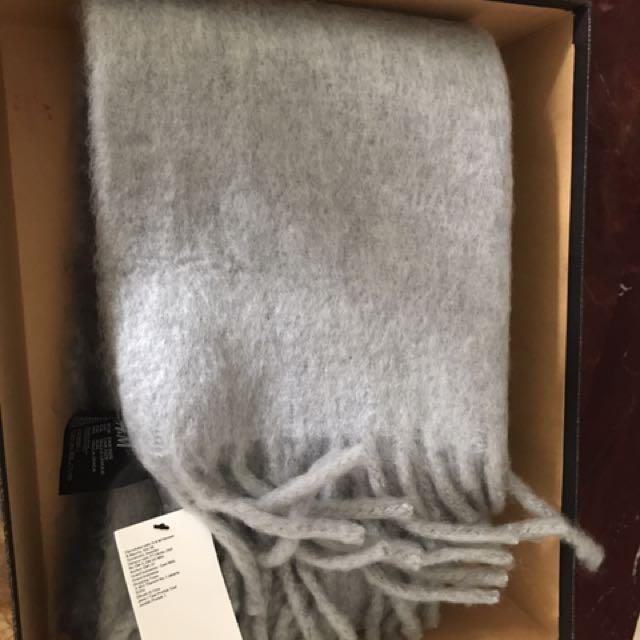 H&M Ombré Grey Scarf