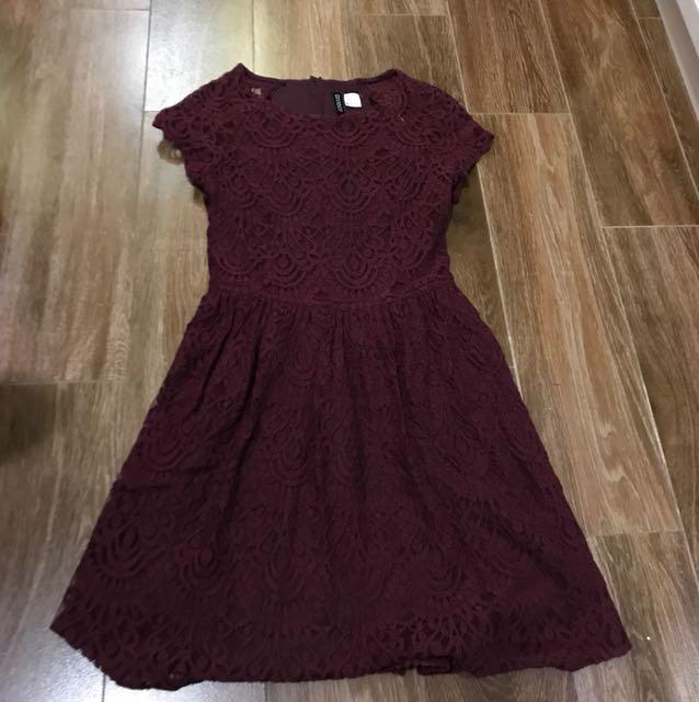 HnM brocade dress