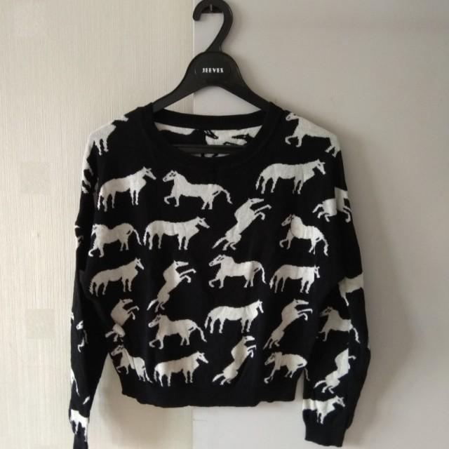 Horses Sweater