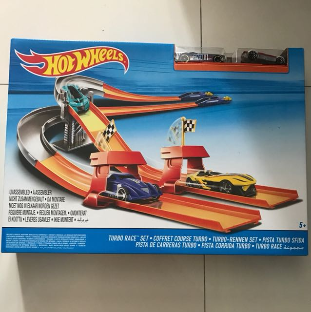Hot Wheels Turbo Race Set +5