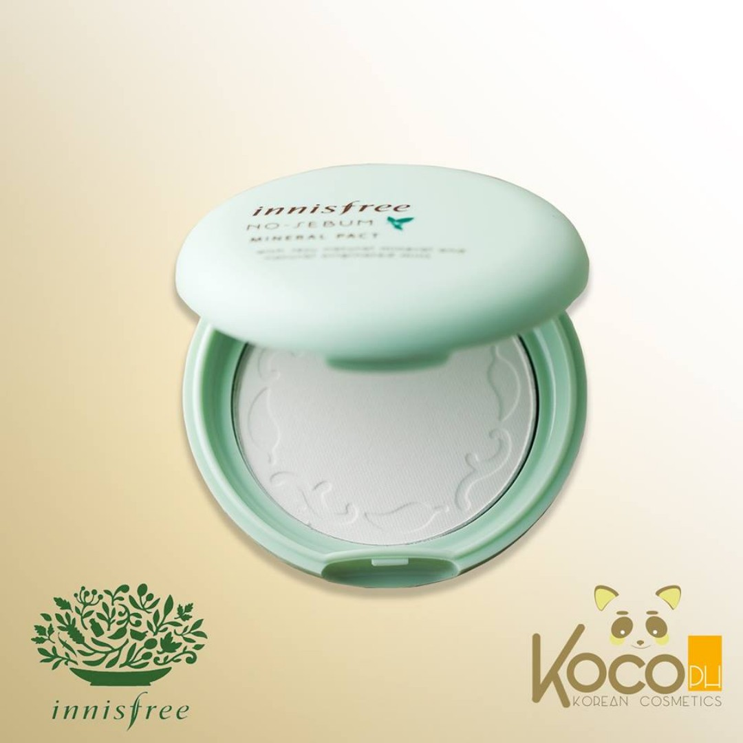 Innisfree - No Sebum Mineral Pact 8.5g, Health & Beauty, Makeup on Carousell