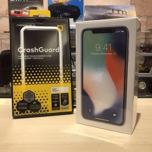iPhone X & Rhinoshield Mod 最強保護套