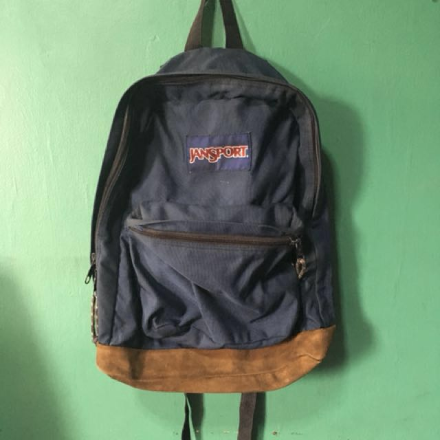 Jansport Navy Blue (AUTHENTIC)