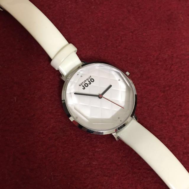 JOJO白色系女用腕錶