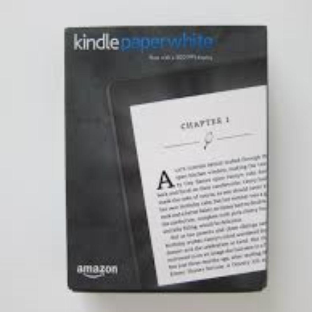 Kindle Paperwhite 3 white color