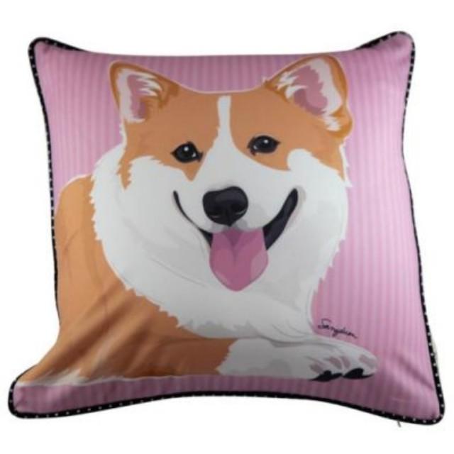 Looking for cushion - corgi design (Wan to buy)