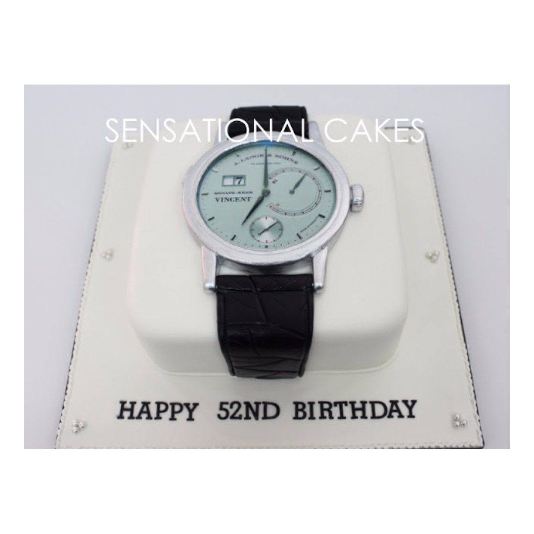 Luxurious Watches In The World 3d Watch Cake Singapore Rolex Iwc Portuguese Breitling Jaeger Lecoultre Audemars Piguet Omega Food Drinks Baked Goods On Carousell