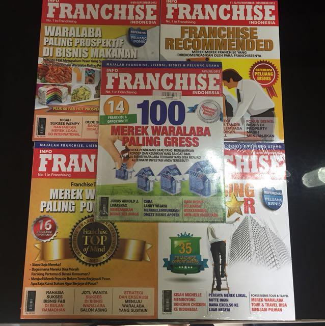 Majalah Franchise (5 pcs)