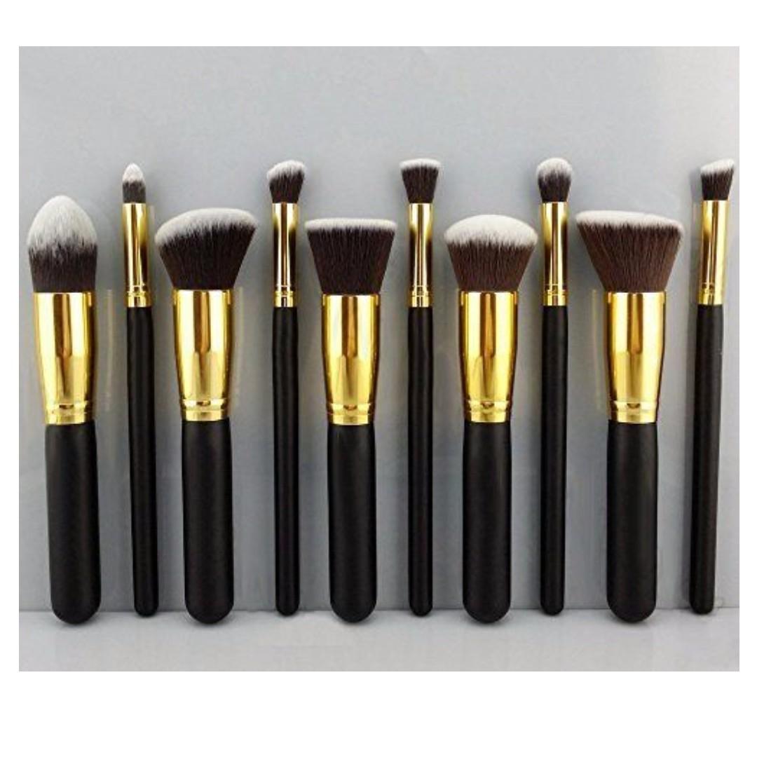 Makeup Brushes Set of 10