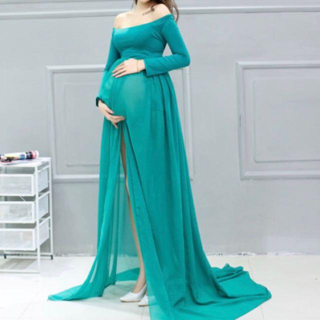 Maternity Photo Shoot Dress - NEW