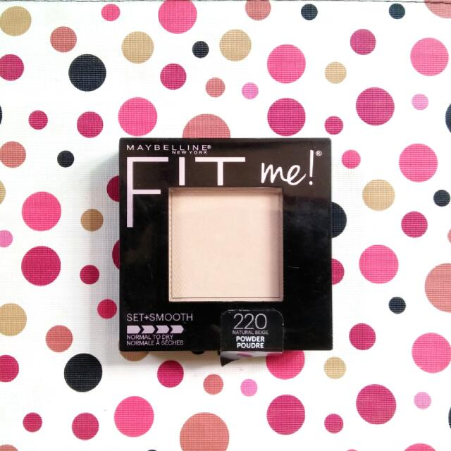 Maybelline Fit Me Set+Smooth
