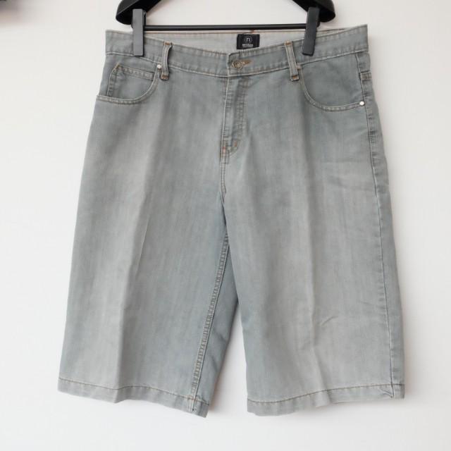 Men's Bermuda Jeans Washed Grey