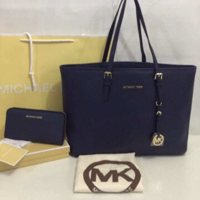 Mk saffiano bags and wallet