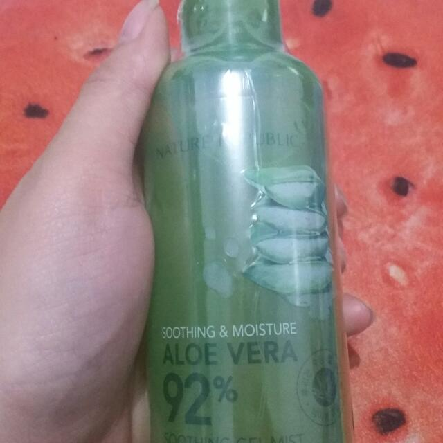 Nature Republic Aloe Vera 92% Soothing Gel &Mist
