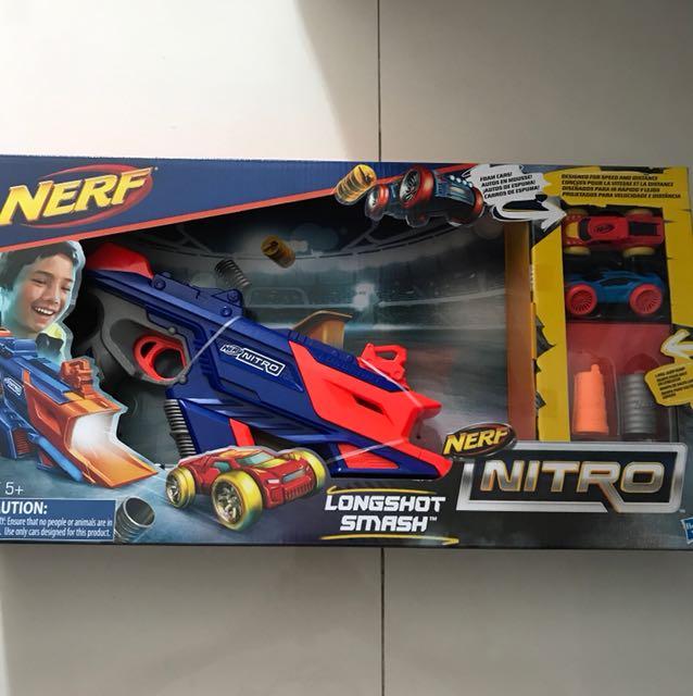 Nerf Nitro Longshot Smash +5