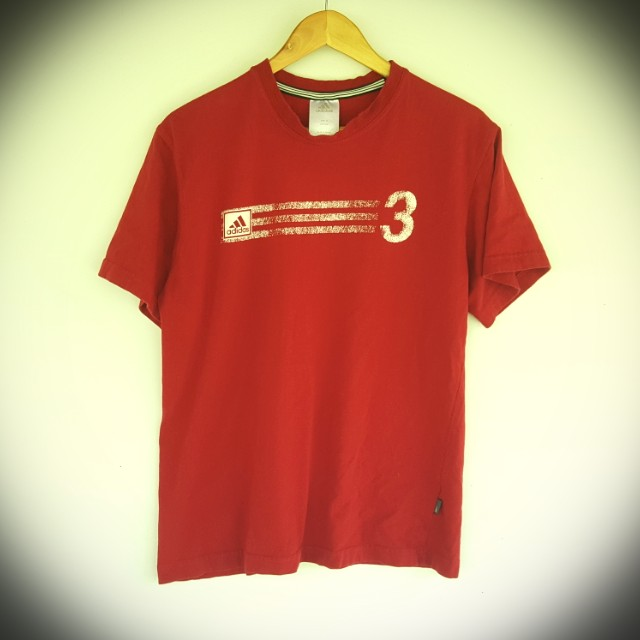 New Adidas Red M T Shirt