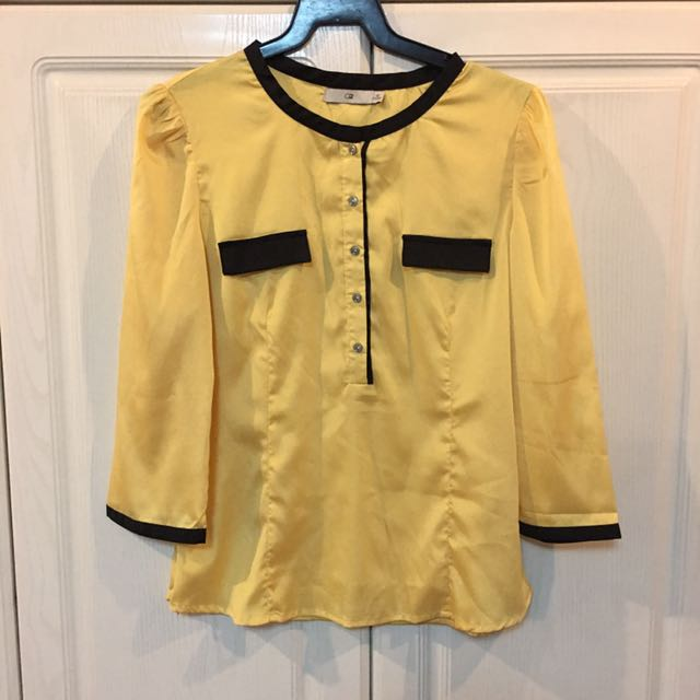NEW! G2 Yellow and Black Office Wear