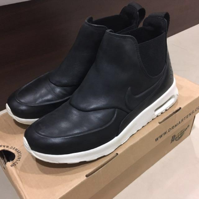 Nike airmax 高筒 皮質 運動鞋