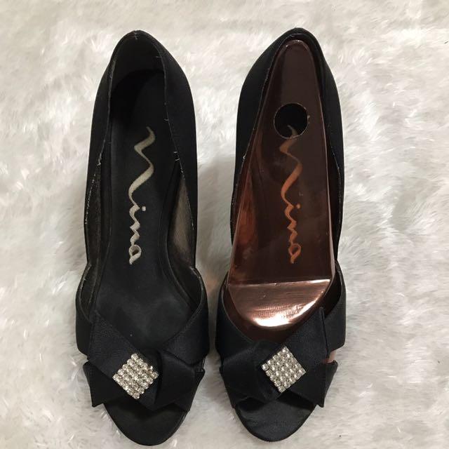 Nina Black Formal Heels