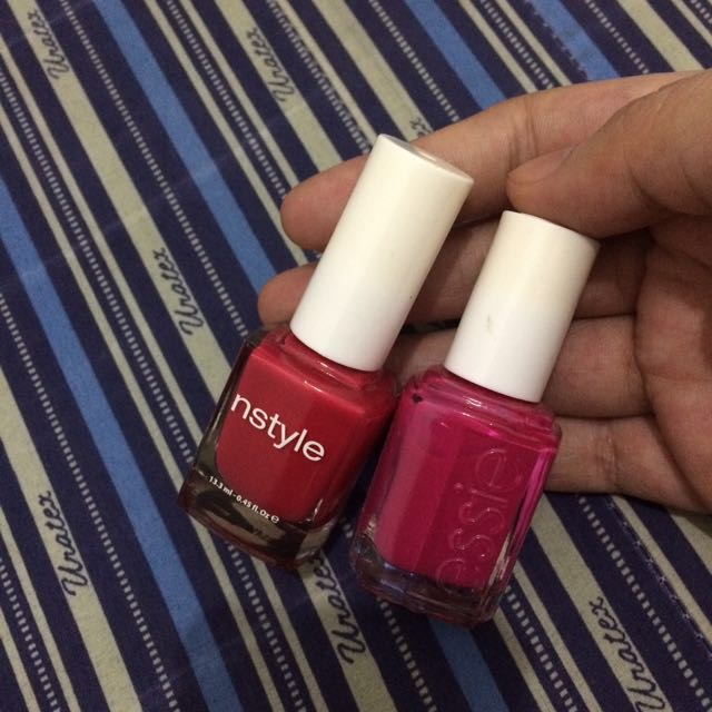 Nstyle&essie cutics Authentic