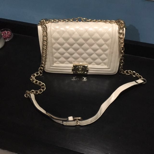 Off white formal purse