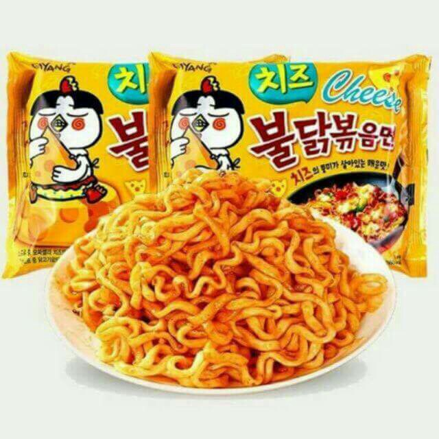 Onhand Samyang cheese flavor