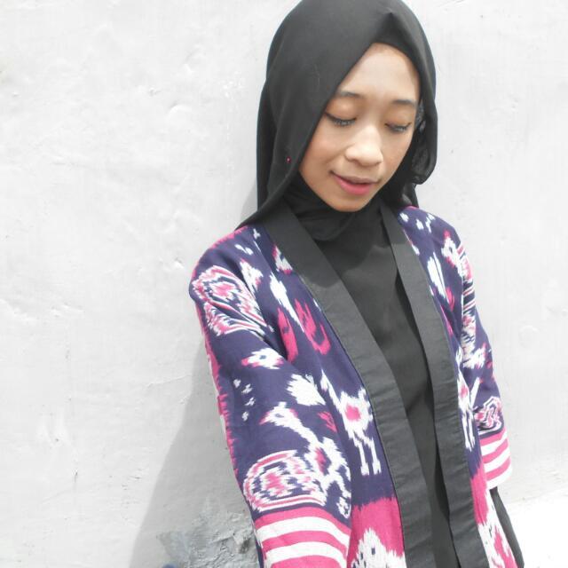Outer Tenun Kimono