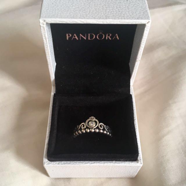 Pandora Tiara Ring - Silver