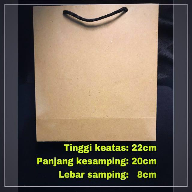 Paperbag / shopping bag / tas kertas / paper bag murah