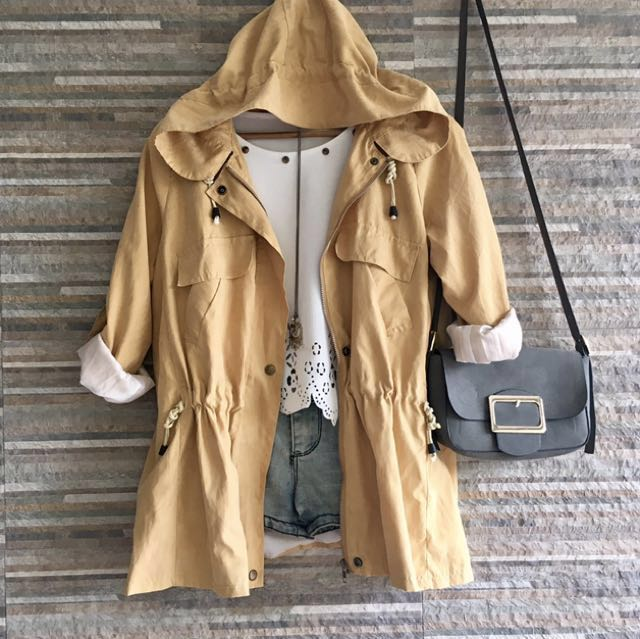 """PARKA with hood """"Small-Large frame size"""""""