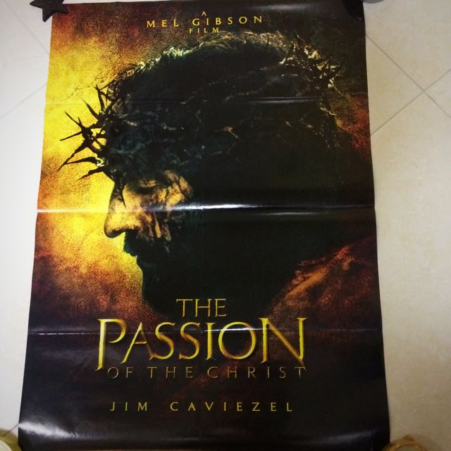 Passion of Christ Movie Poster + Troy Poster, Music & Media