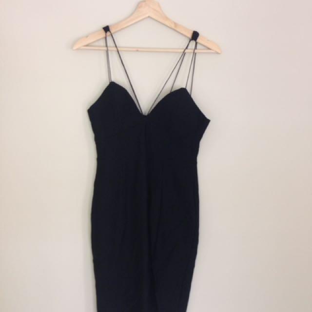 Pepper mayo black dress size 12