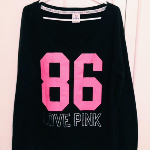 PINK sweater (M)
