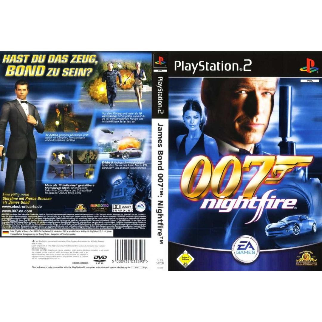 007 Nightfire Ps2 (Musings)