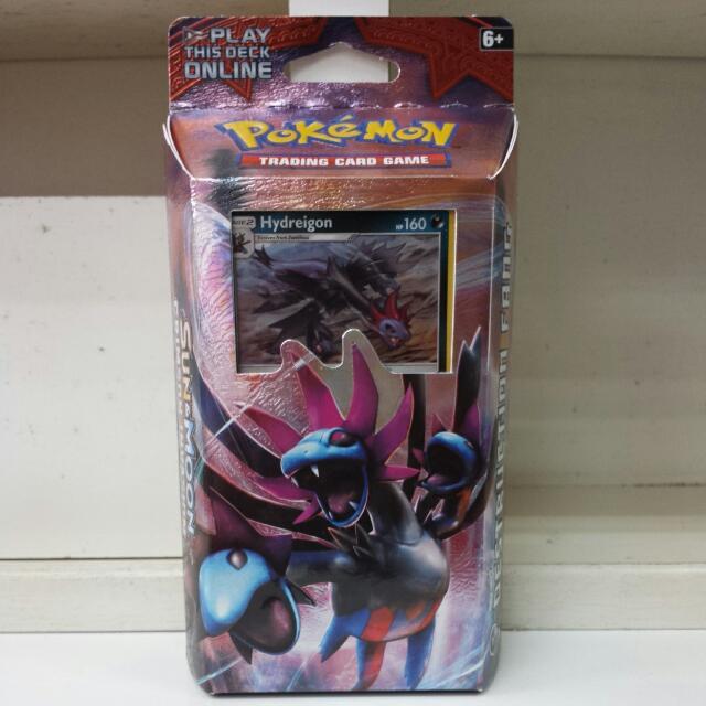 Pokemon TCG Crimson Invasion Destruction Fang Hydreigon Theme Deck