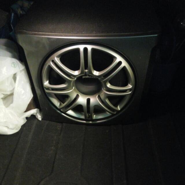PolkAudio Car Subwoofer