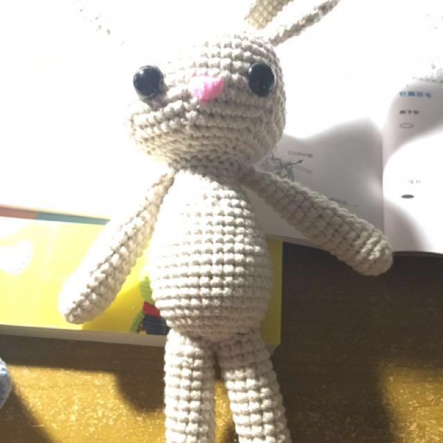 Rabbit crochet handmade