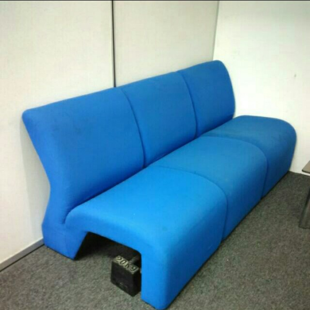 (Reduced)3Seater Office Sofa