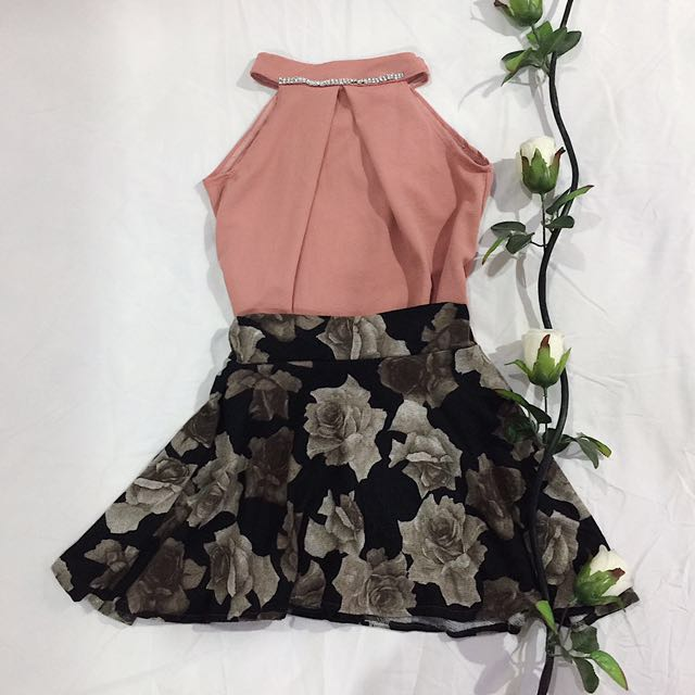 [SALE!!] Blush Pink Top with Jewels