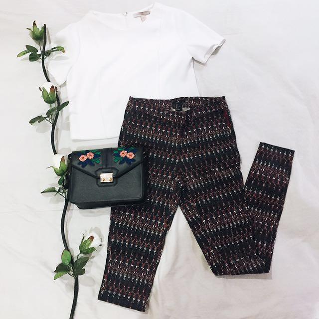[SALE!!] H&M Printed Pants (Tribal)