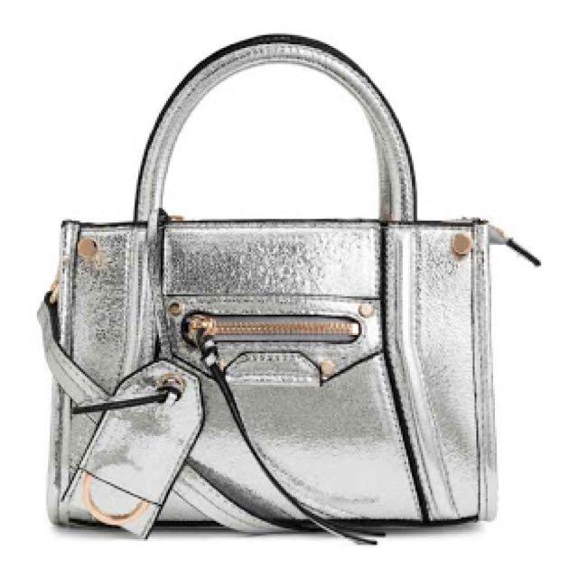 Small bag in silver