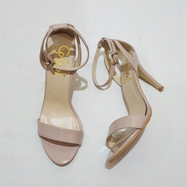 So Fab Nude Sandals