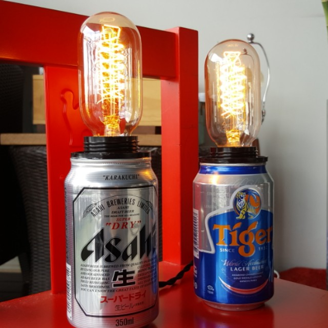 Soda Can Touch Lamp Workshop