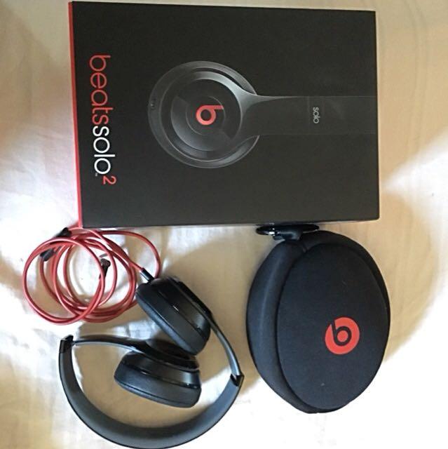 Solo 2 Beats By Dre Headphone (on Ear)