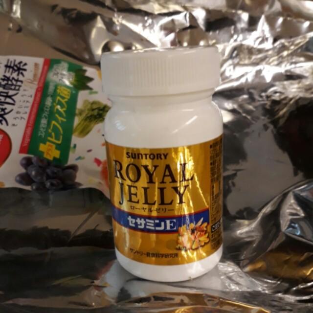SUNTORY Royal Jelly + Sesamin E 120 Tablets