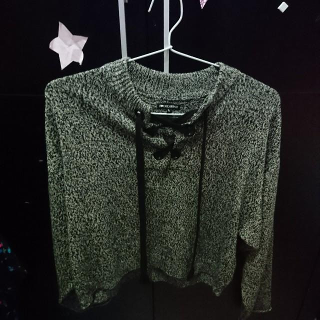 Sweater colorbox abu abu