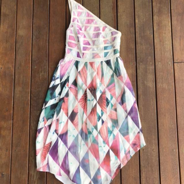 Talulah asymmetric dress size xs 6