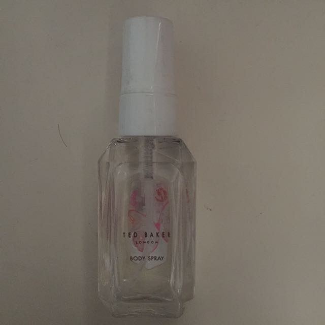 Ted Baker White Mini Body Spray 50 Ml