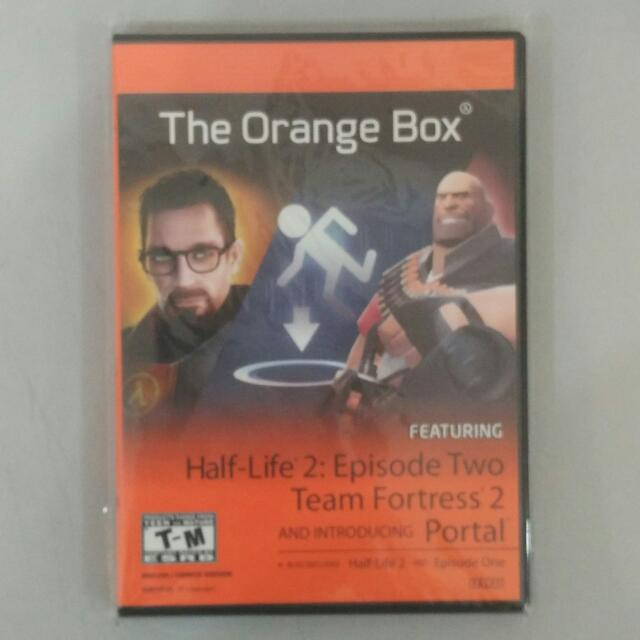 The Orange Box (Original) (PC) Brand New