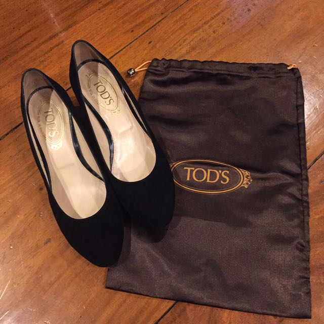 TODS Authentic Wedged Shoes